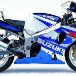 Suzuki GSXR 1000 2001 Azul y Blanco