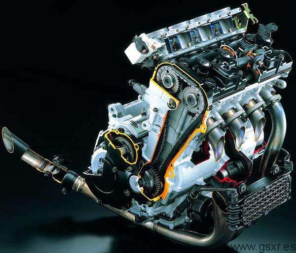 Suzuki GSXR 1000 2001 motor