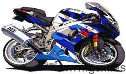 icono caricatura moto suzuki gsxr