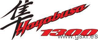 icono logo Suzuki GSX-R 1300 Hayabusa