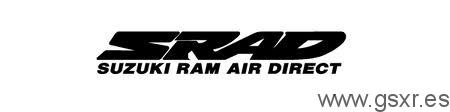 icono logo SRAD Suzuki Ram Air Direct