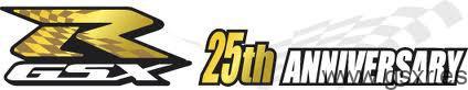 icono logo Suzuki GSX-R 25 Aniversario
