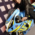 Jay Kay de Jamiroquai con Suzuki GSXR 1000 2003 Rizla