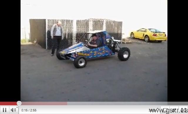 suzuki gsxr moto buggy dunas