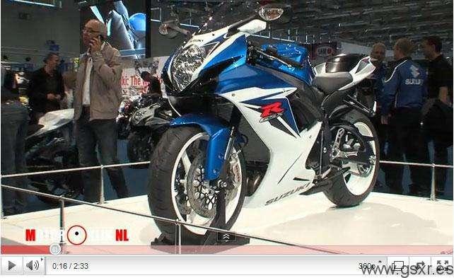 video suzuki gsxr 600 2011 intermot 2010