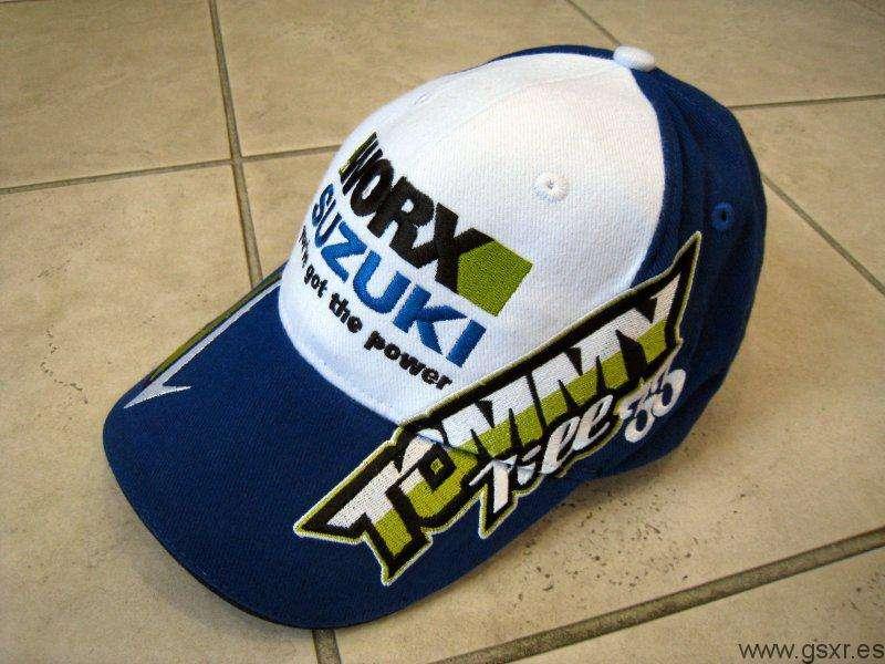 Gorra Tommy Hill del equipo Worx Suzuki BSB Superbike Britanico
