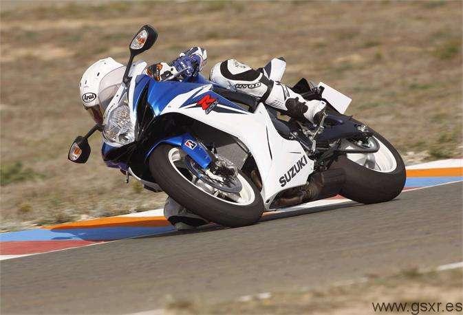 test positivo para Suzuki GSX-R 600 2011 en Almeria