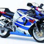 Suzuki GSXR 750 2000 Azul y Blanco