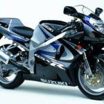Suzuki GSXR 750 2000 Negro y Gris