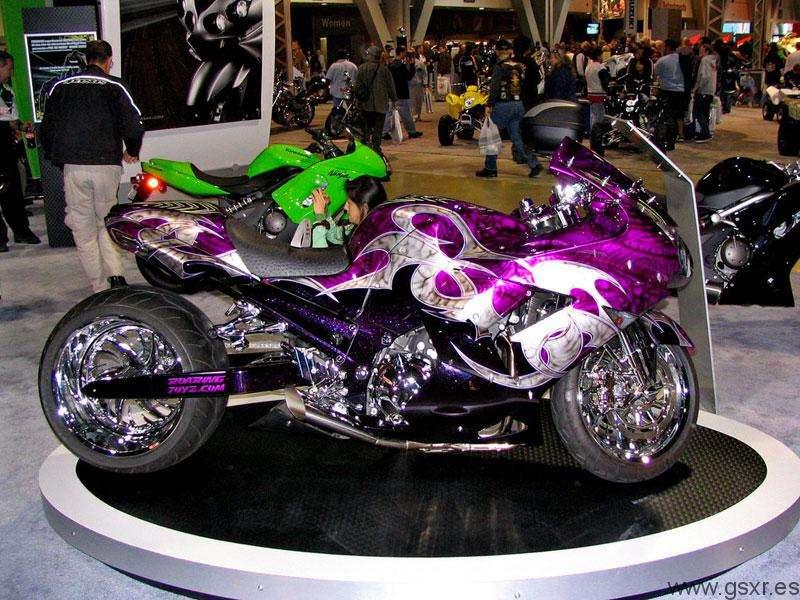 tuning moto suzuki gsxr custom