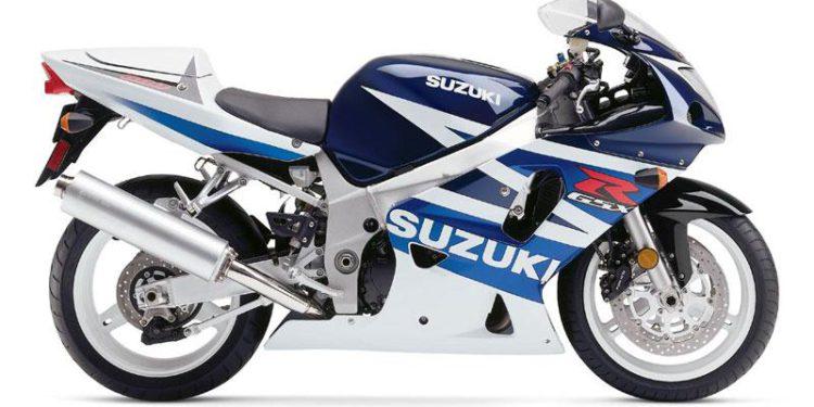 Suzuki GSXR 600 2003 Azul y Blanco