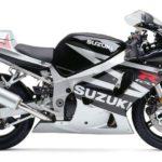 Suzuki GSXR 600 2003 Negro y Gris