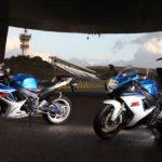 Suzuki GSXR 600 2011 y Suzuki GSXR 750 2011 en Jerez