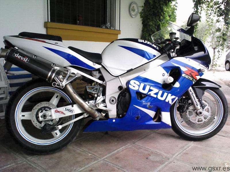 Suzuki GSXR 600 2002