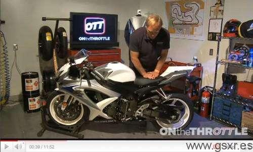 videos regulacion suspensiones motos suzuki gsxr