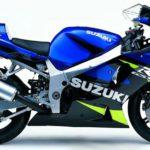Suzuki GSXR 600 2002 Azul y Verde