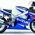 Suzuki GSXR 600 2002 Azul y Blanco