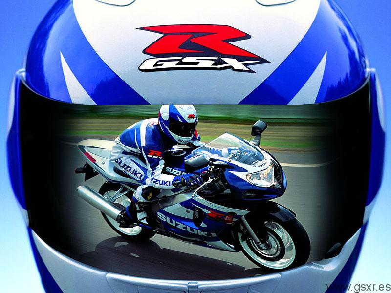 Suzuki GSXR 600 2002 en accion