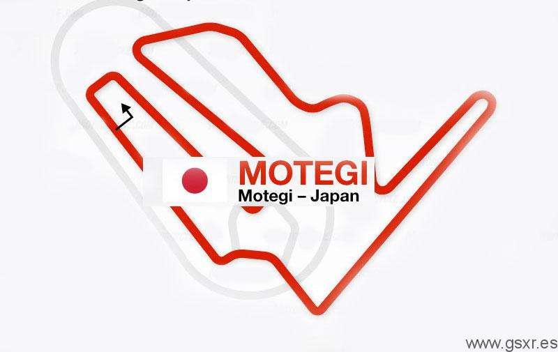 MotoGP - circuito de motegi en japon