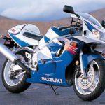 Suzuki GSXR 600 1997 Azul y Blanco