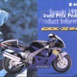 Suzuki GSXR 600 1997 Azul y Negro