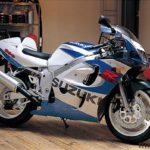 Suzuki GSXR 600 1999 Azul y Blanco