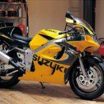 Suzuki GSXR 600 1999 Amarillo y Negro