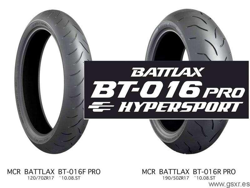 bridgestone battlax bt-016 pro hypersport