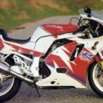 Suzuki GSXR 600 1992 Rojo y Blanco
