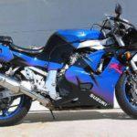 Suzuki GSXR 600 1992 Azul y Negro