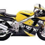 Suzuki GSXR 600 2000 Amarillo y Negro