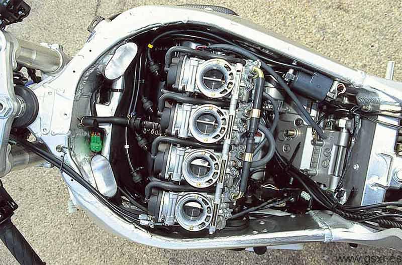 Rebuild Manual For  Suzuki Gsxr Srad