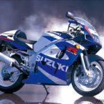 Suzuki GSXR 600 2000 Azul y Blanco
