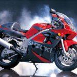 Suzuki GSXR 600 2000 Negro y Rojo