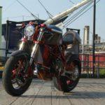 Suzuki Streetfighter estilo Cafe Racer