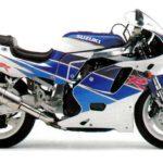 Suzuki GSX-R 750 1992 ficha tecnica version USA