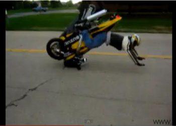 caida invertido moto suzuki gsxr 750