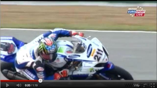 john hopkins video bsb british superbike 2011