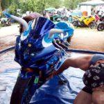 Suzuki GSXR 1000 2005 Blue Bulls