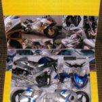 kit moto miniatura suzuki gsxr 1300 hayabusa