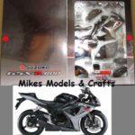 kit moto miniatura suzuki gsxr 600 2006