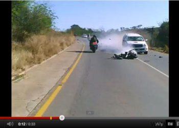 video accidente moto suzuki gsxr