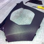 carenado lateral vinilo carbono