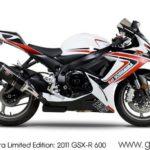 Suzuki GSXR 600 2011 Yoshimura Limited Edition
