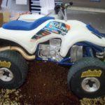 tarta moto quad Suzuki