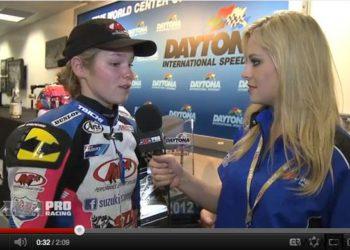 video elena myers ama pro supersport 2012