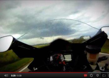 video salto moto suzuki gsxr 1000 2009