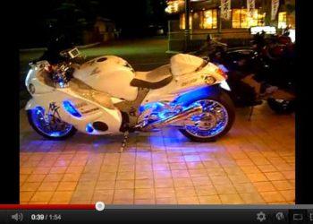 video suzuki gsxr 1300 hayabusa tuning japon