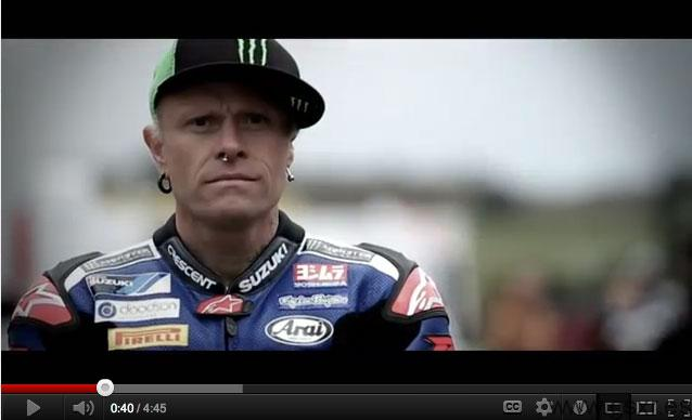 keith flint hottrax snetterton 2012 video