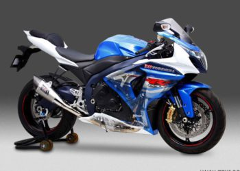 Escape Yoshimura R-11 titanio copa carbono en Suzuki GSX-R 1000 2012